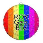 Arco iris RoyGeeBiv - LGBT Tabla Dardos