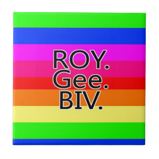 Arco iris ROYGeeBiv - Roygbiv Azulejo