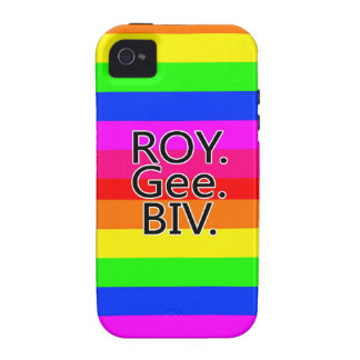 Arco iris, ROYGeeBiv - Roygbiv iPhone 4 Carcasa