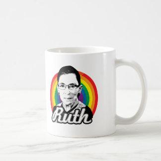 Arco iris Ruth - políticas de LGBT - Taza Clásica