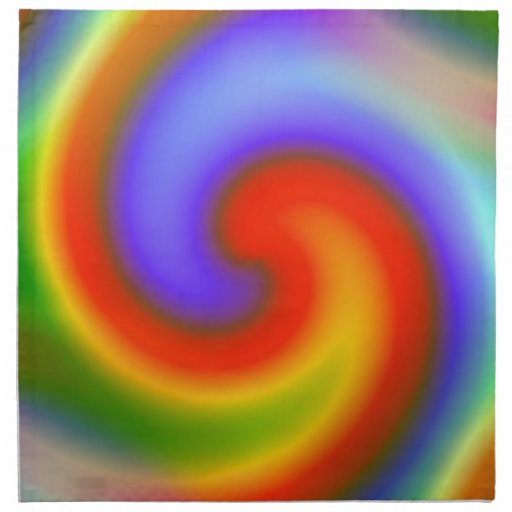 Arco iris servilletas de papel