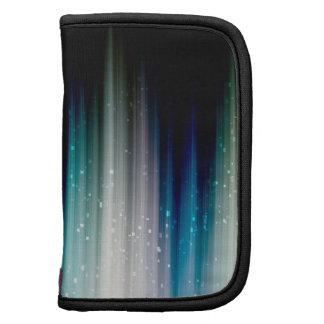 Arco iris silenciado bombeado encima del caso en f planificador