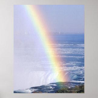 Arco iris sobre Niagara Falls Nueva York Impresiones