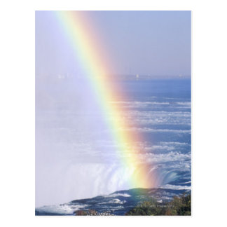 Arco iris sobre Niagara Falls, Nueva York Postal