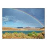 Arco iris sobre parque de estado de la cala de las invitación 12,7 x 17,8 cm