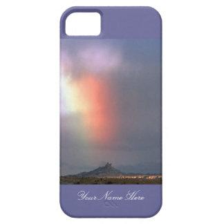 Arco iris sobre Shiprock, New México iPhone 5 Case-Mate Protector