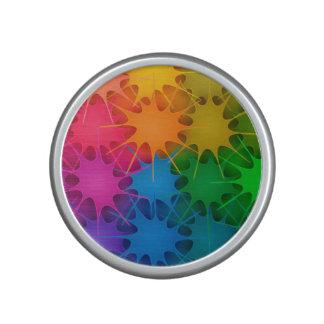 ¡Arco iris Splat! Altavoz Con Bluetooth