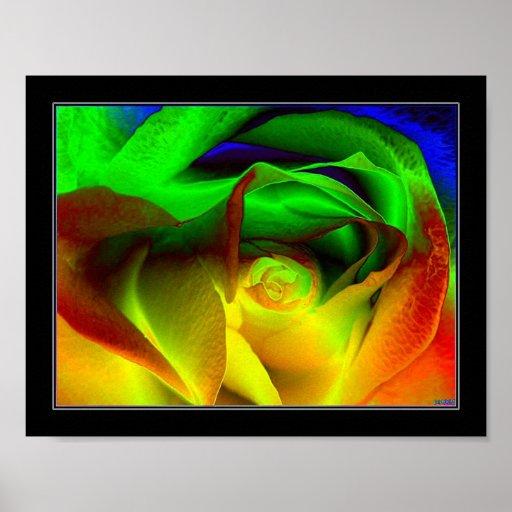 Arco iris subió posters