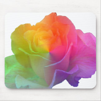 arco iris subió tapete de ratones