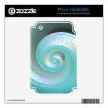 Arco iris surrealista Shell del jade iPhone 3G Skin