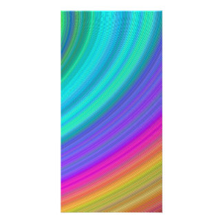Arco iris tarjetas fotograficas
