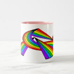 Arco iris # tatuaje 2 tazas