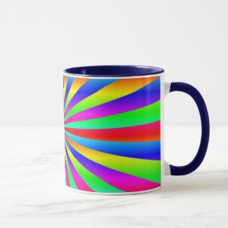 Arco iris taza