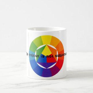 Arco iris taza de café