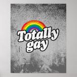 ARCO IRIS TOTALMENTE GAY - .PNG POSTERS