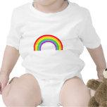arco iris traje de bebé