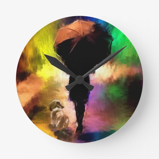 arco iris umbrella.jpg reloj redondo mediano