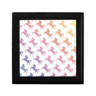 Arco iris Unicorns.pdf Joyero Cuadrado Pequeño