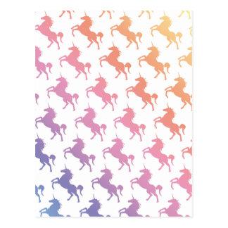 Arco iris Unicorns.pdf Tarjeta Postal