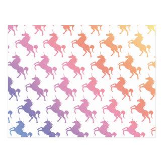 Arco iris Unicorns.pdf Tarjetas Postales