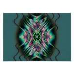 arco iris witchy poster