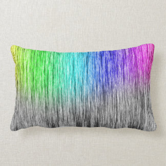 arco iris y almohada gris cojín lumbar