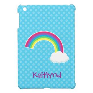 Arco iris y nube lindos iPad mini coberturas