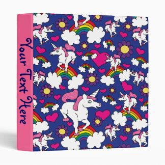 "Arco iris y unicornios carpeta 1"""