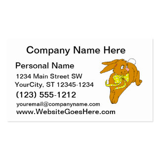 arco marrón graphic.png del amarillo del salto del tarjetas de negocios