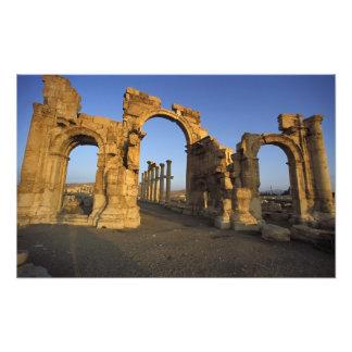 Arco monumental, Palmyra, Homs, Siria Fotografías