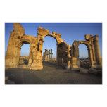 Arco monumental, Palmyra, Homs, Siria Impresión Fotográfica