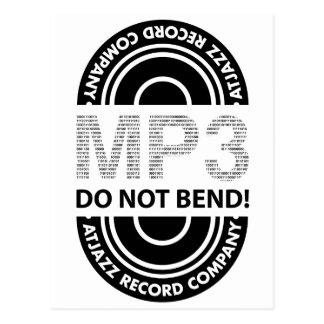 ARCo. MP3 DO NOT BEND! Postcard