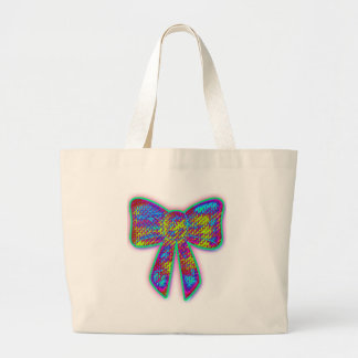Arco psicodélico del hippie bolsa tela grande