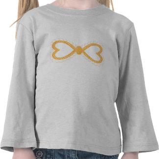 Arco punteado polca anaranjada camiseta