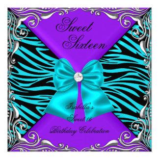 Arco púrpura del diamante del trullo de la cebra d anuncios