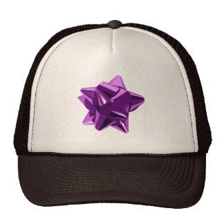 Arco púrpura, regalo, día de fiesta gorra