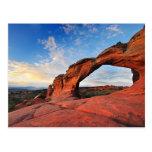 Arco quebrado, arcos parque nacional, Utah Tarjetas Postales