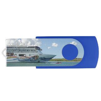 Arco resplandeciente II Pen Drive Giratorio USB 2.0