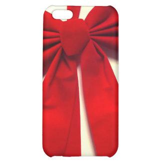 Arco rojo del navidad de la cinta