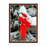 Arco rojo Nevado Postales