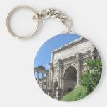 Arco romano del foro de Titus - Roma, Italia Llaveros