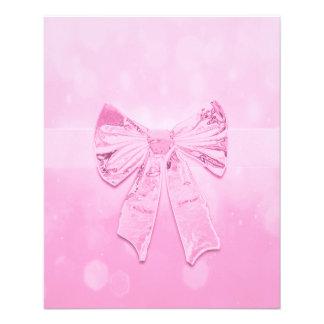 "Arco rosado bonito folleto 4.5"" x 5.6"""