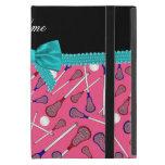 Arco rosado conocido personalizado de la turquesa  iPad mini protector