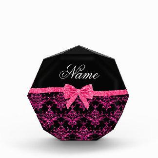 Arco rosado conocido personalizado del rosa del da