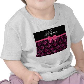 Arco rosado conocido personalizado del rosa del camisetas