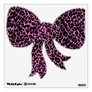 Arco rosado del modelo del guepardo