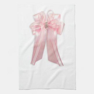 Arco rosado toallas