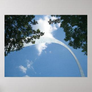 Arco-St de la entrada. Louis, Missouri Posters