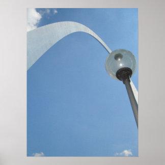 Arco-St de la entrada. Louis, Missouri Poster