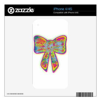 Arco trippy psicodélico iPhone 4S calcomanías